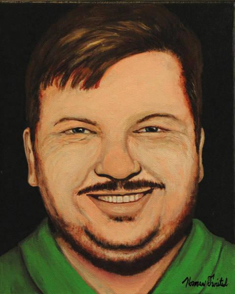 Serial Killer Painting - John Wayne Gacy by Norman Twisted
