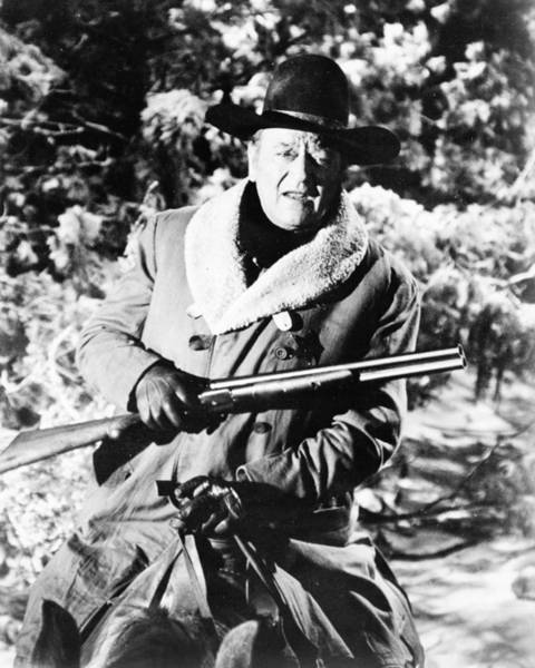 Robbers Photograph - John Wayne In The Train Robbers  by Silver Screen