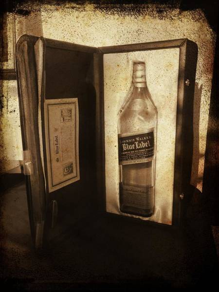 Photograph - Johnnie Walker - Still Going Strong by Richard Reeve