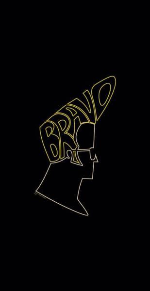 Animated Digital Art - Johnny Bravo - Bravo Hair by Brand A