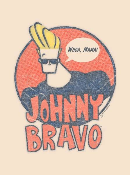 Animated Digital Art - Johnny Bravo - Wants Me by Brand A