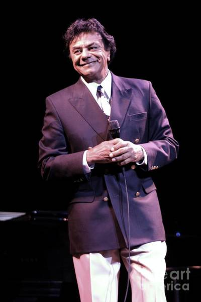 Appearance Photograph - Johnny Mathis by Concert Photos