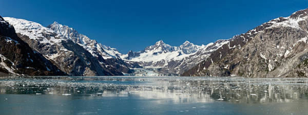 Glacier Bay Photograph - Johns Hopkins Glacier In Glacier Bay by Panoramic Images