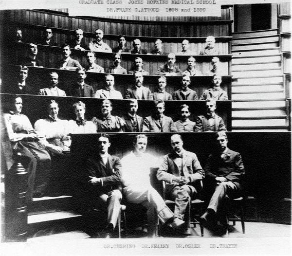 1899 Photograph - Johns Hopkins Medical School by American Philosophical Society