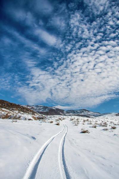 Atv Photograph - Johnson Valley With Snow, California by Zandria Muench Beraldo