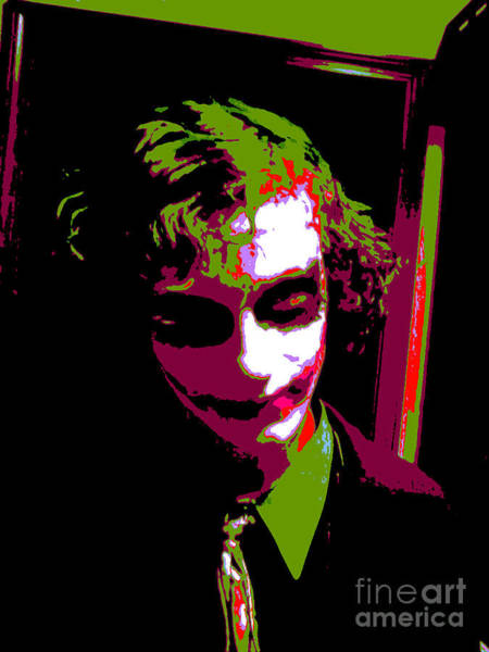 The Joker Photograph - Joker 8 by Alys Caviness-Gober