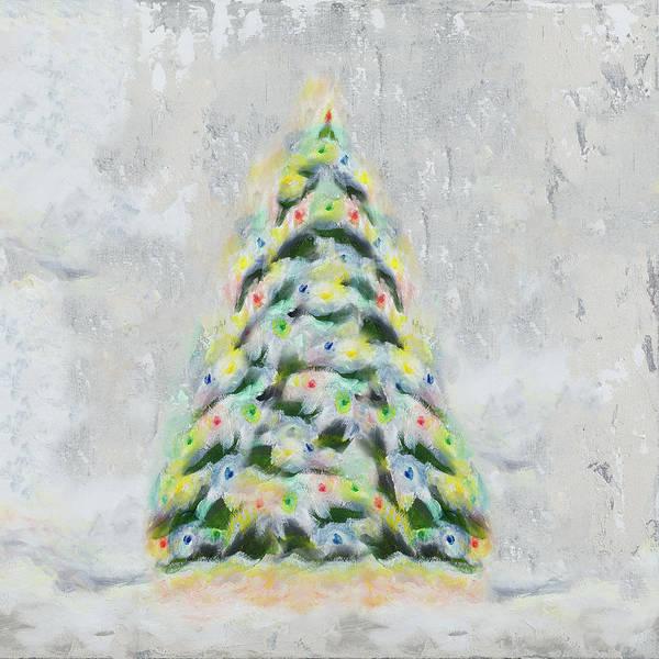 Christmas Tree Digital Art - Jolly Christmas Tree by Tiffany Hakimipour
