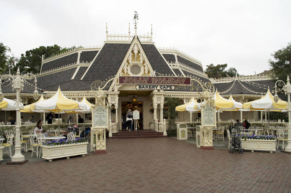 Clothier Photograph - Jolly Holiday Cafe Main Street Disneyland 03 by Thomas Woolworth