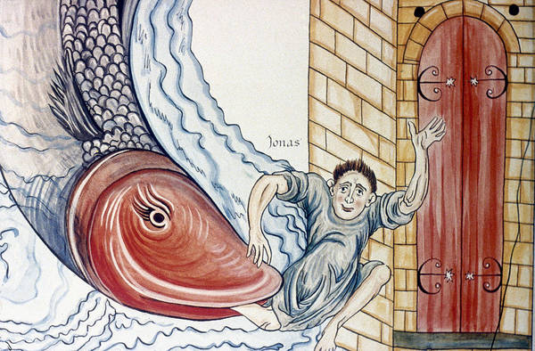 Painting - Jonah And The Whale by Granger
