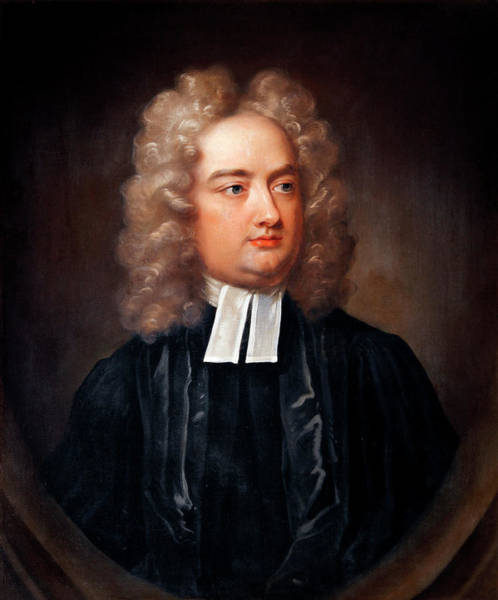 1600s Wall Art - Photograph - Jonathan Swift By Charles Jervas by Bodleian Museum/oxford University Images