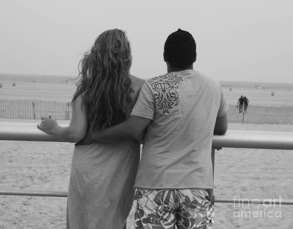 Wall Art - Photograph - Jones Beach Couple by John Telfer