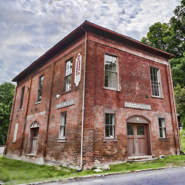 Photograph - Jonesborough Salt House by Heather Applegate