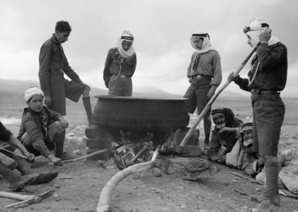 Wall Art - Photograph - Jordan Bedouins, 1935 by Granger