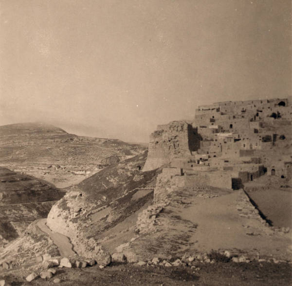 Wall Art - Photograph - Jordan Kerak Castle, 1939 by Granger