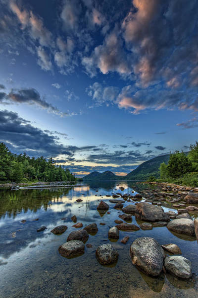 Acadia National Park Wall Art - Photograph - Jordan Pond by Rick Berk