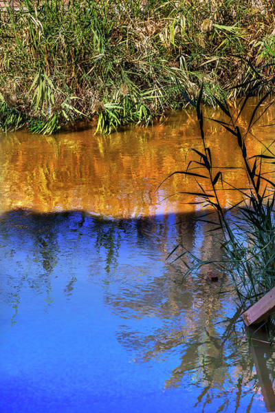 New Testament Photograph - Jordan River Abstract Near Bethany by William Perry