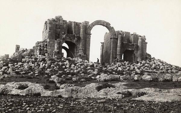 Jerash Photograph - Jordan Triumphal Arch by Granger