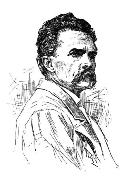 1880 Drawing - Jorge Isaacs (1837-1895) by Granger