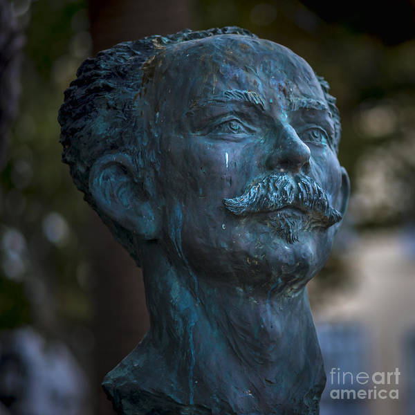 Photograph - Jose Marti Statue Cadiz Spain by Pablo Avanzini