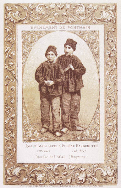 Wall Art - Drawing - Joseph And Eugene Barbedette,  Two by Mary Evans Picture Library