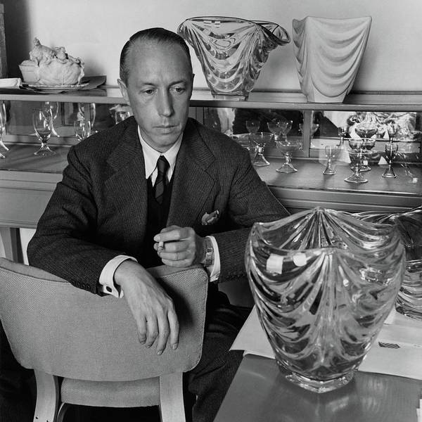 Decorating Photograph - Joseph B. Platt With A Vase Of His Own Design by Luis Lemus