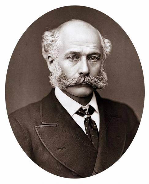 Drainage Photograph - Joseph Bazalgette by Universal History Archive/uig