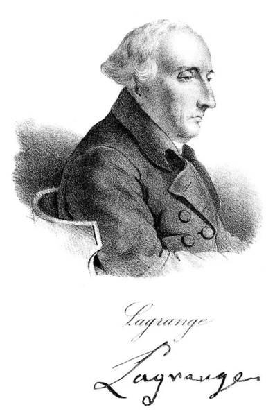 Painting - Joseph Louis Lagrange (1736-1813) by Granger