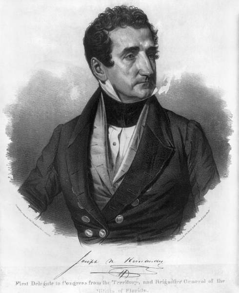 Painting - Joseph Marion Hernandez (1793-1857) by Granger