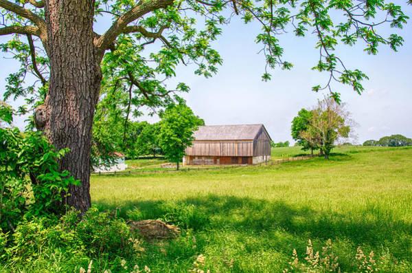 Photograph - Joseph Poffenberger Farm by Guy Whiteley