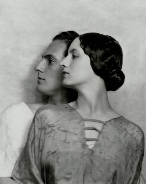 Husband Photograph - Joseph Schildkraut And Elise Bartlett by Nickolas Muray