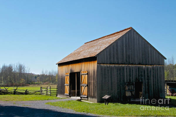 Photograph - Joseph Smith Barn by William Norton