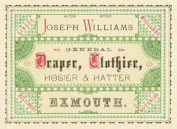 Wall Art - Drawing - Joseph Williams, Draper,  Clothier by Mary Evans Picture Library
