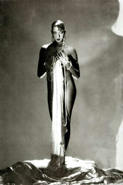 Burlesque Dancer Photograph - Josephine Baker by George Hoyningen-Huene