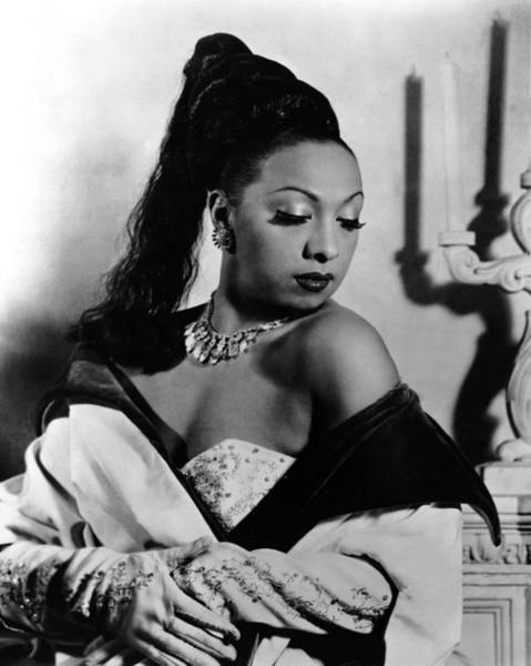 Glamorous Photograph - Josephine Baker by Silver Screen