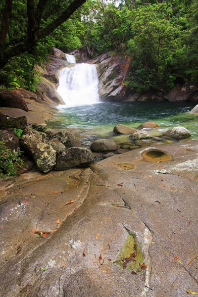Far North Queensland Wall Art - Photograph - Josephine Falls Is One Of The Most by Paul Dymond