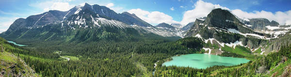 Wall Art - Photograph - Josephine Lake And Grinnell Lake by Marisa López Estivill