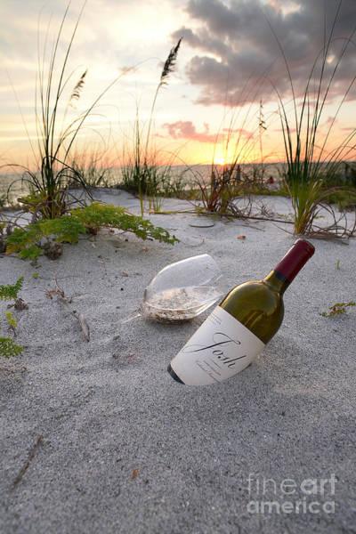 Vintage Wine Photograph - Josh Wine by Jon Neidert