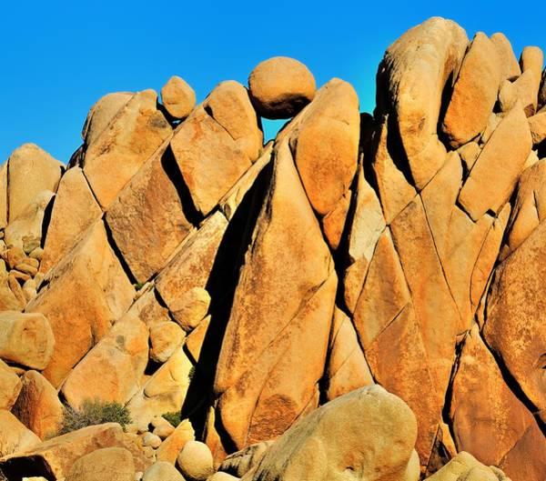 Photograph - Joshua Tree Rocks by Walt Sterneman
