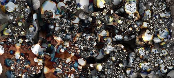 Bauble Digital Art - Jostling  by Ron Bissett