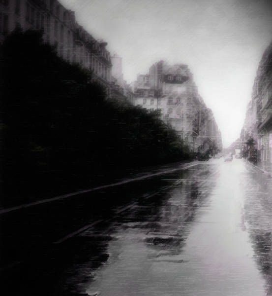 Wall Art - Photograph - Jour De Pluie by David Fox