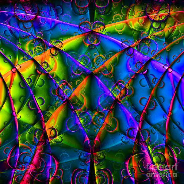 Algorithm Digital Art - Journey 20130511v1 Square by Wingsdomain Art and Photography