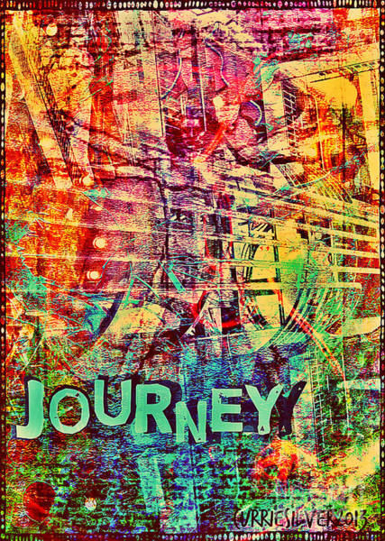 Wall Art - Digital Art - Journey by Currie Silver