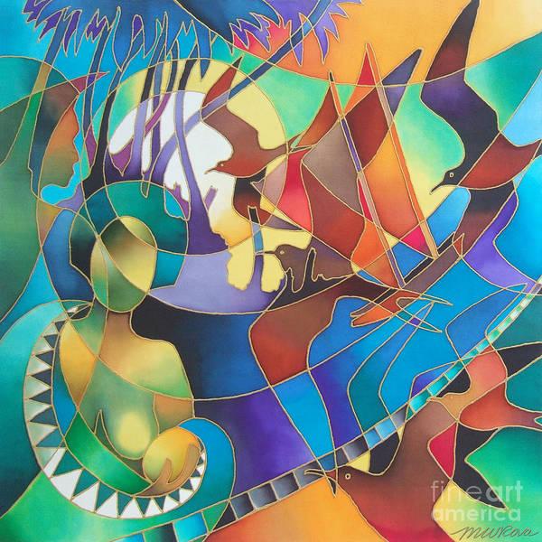 Painting - Journey Of The Vaka I by Maria Rova