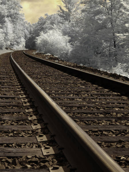 Railroad Tie Wall Art - Photograph - Journey On The Tracks by Luke Moore