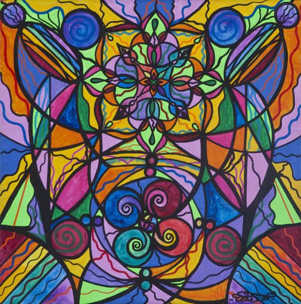 Allopathy Wall Art - Painting - Jovial Optimism by Teal Eye Print Store