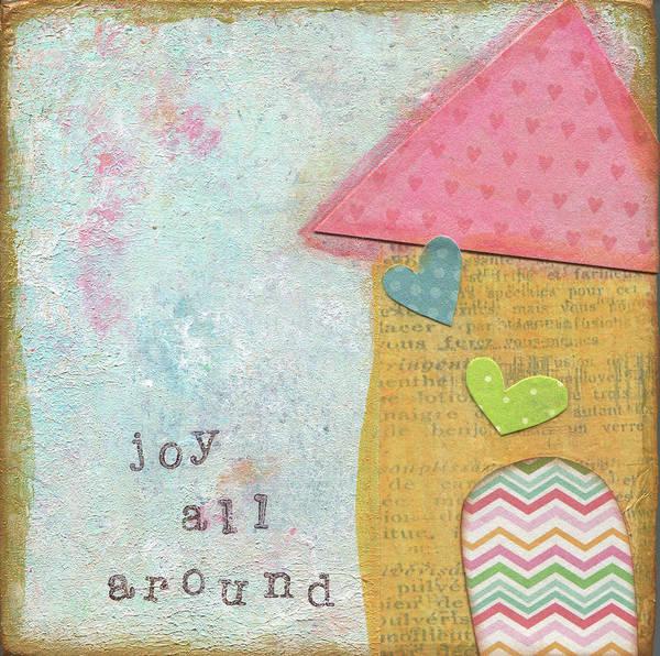 Wall Art - Painting - Joy All Around by Alli Rogosich