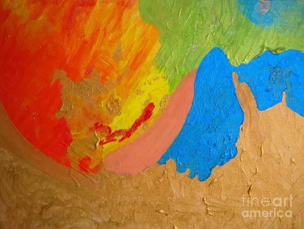 Painting - Joy And Cooperation  by Ilona Svetluska