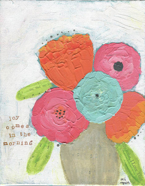 Wall Art - Painting - Joy Comes In The Morning by Alli Rogosich