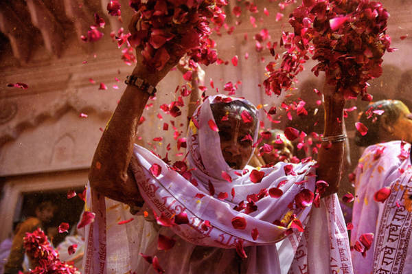 Festival Photograph - Joy Of Life by Avishek Das