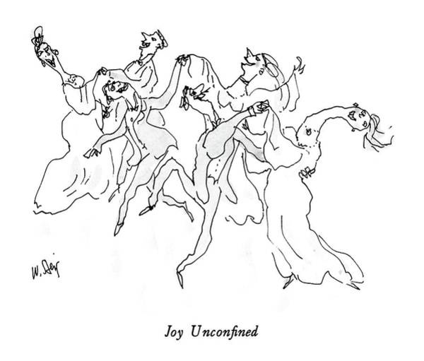 Joy Unconfined Art Print